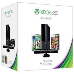 XBOX 360 E 4GB - KINECT HOLIDAY BUNDLE