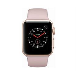 SERIES 3 38MM GPS GOLD ALUMINUM CASE PINK SAND SPORT BAND